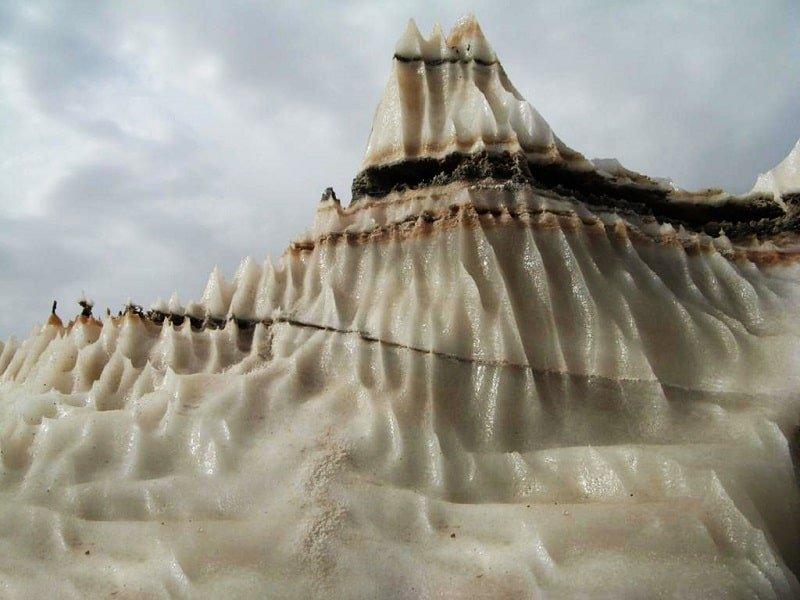 گنبد نمکی و تنوع سنگ ها