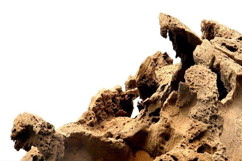 دره تندیس ها در جزیره قشم