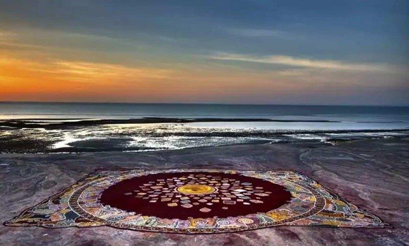 جزیره ساحل فرش