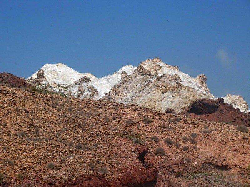 کوه برفی
