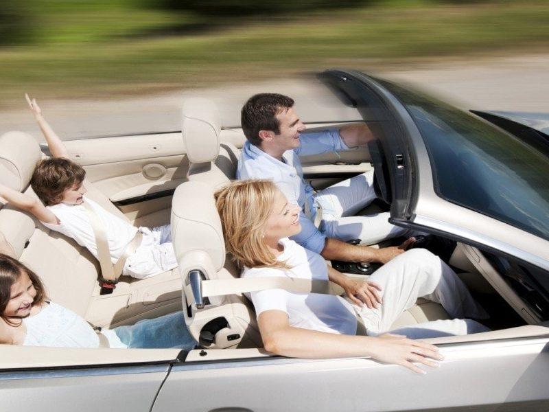 سفر با کودکان با خودروی شخصی
