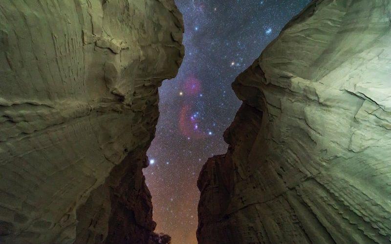 ستارگان از تنگه چاهکوه
