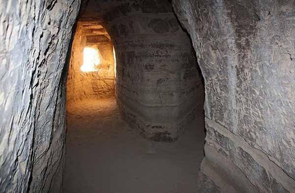 فضاهای موجود در غار خربس در قشم