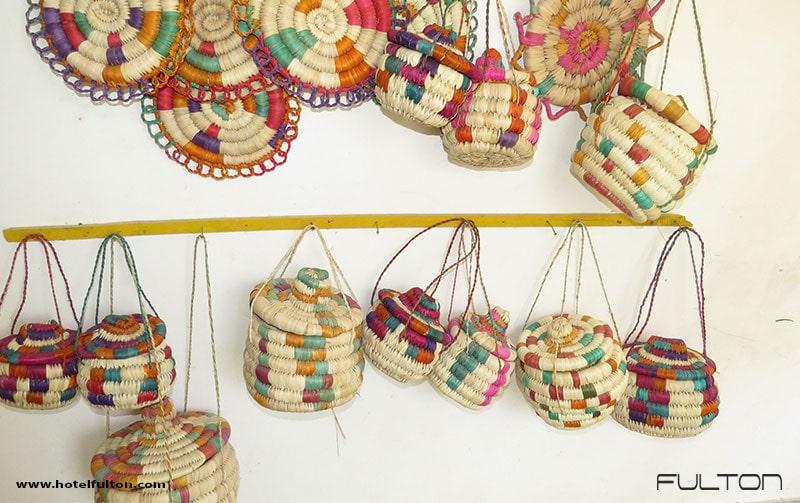 سوغات قشم : صنایع دستی حصیری